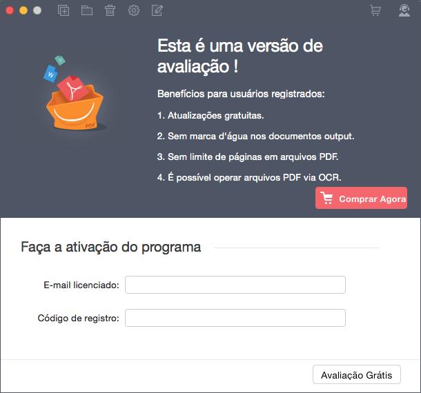 Registar pdf converter pro para mac
