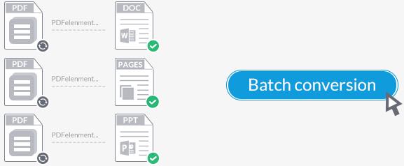 Converter pdf em massa