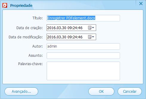 Palavra-passe pdf