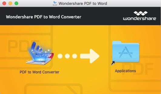 Instalar pdf to word para mac