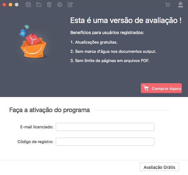 Registar pdf to word para mac