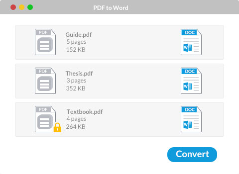 Converter pdf para word no mac