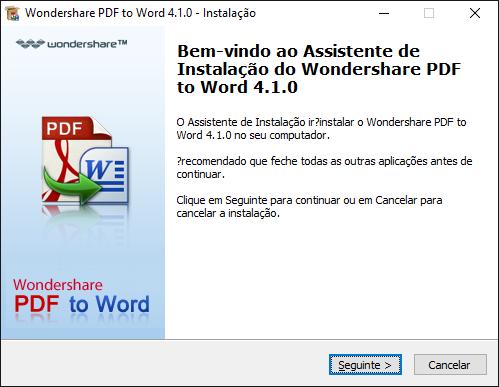 Instalar pdf to word para windows