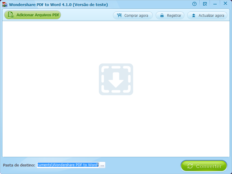Registar pdf to word para Windows