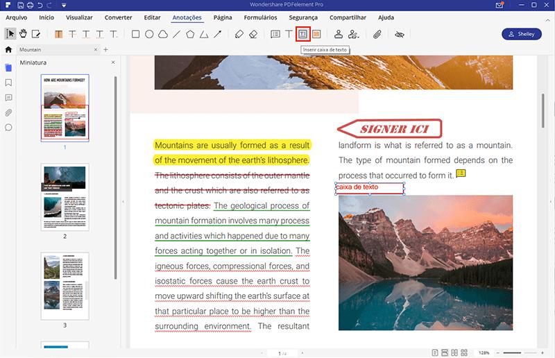 como anotar um pdf