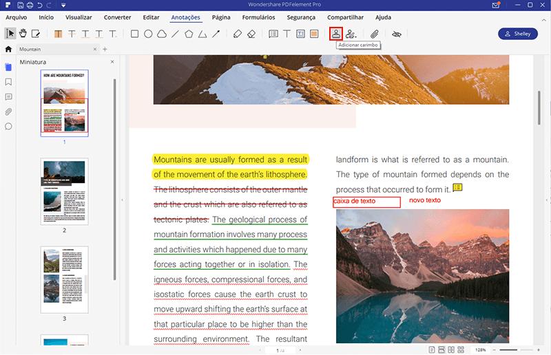 criando um carimbo em pdf