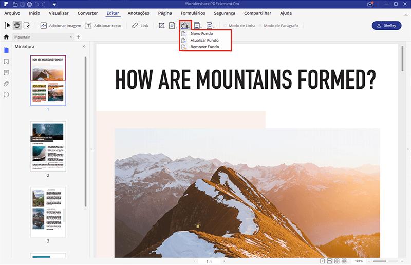 cor de pdf