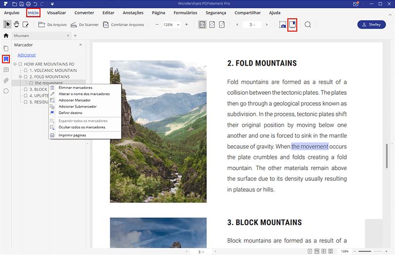 adding bookmarks to pdf