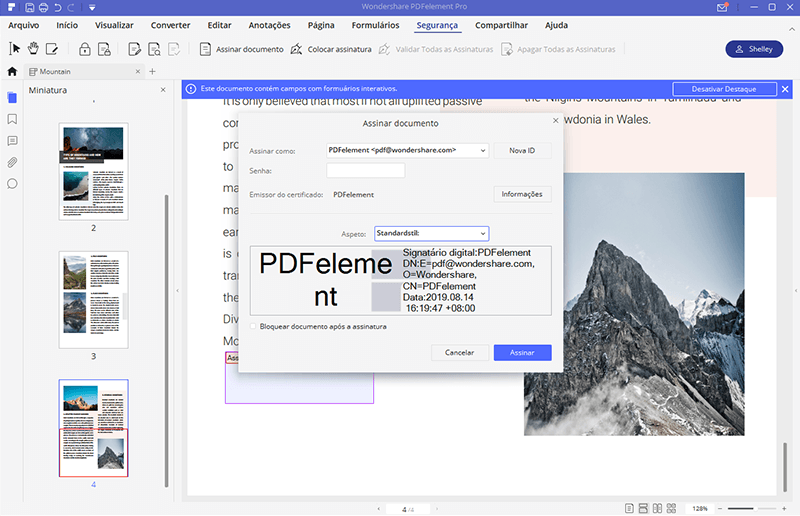 how to add signature to pdf