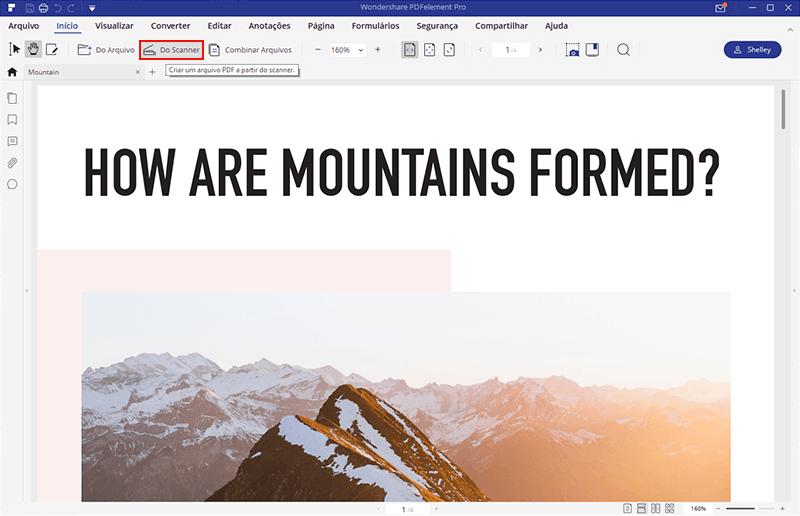 digitalizar diversas páginas para pdf no windows 10