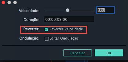 Reproduzir Vídeo Revertido no filmora versão 9 mac