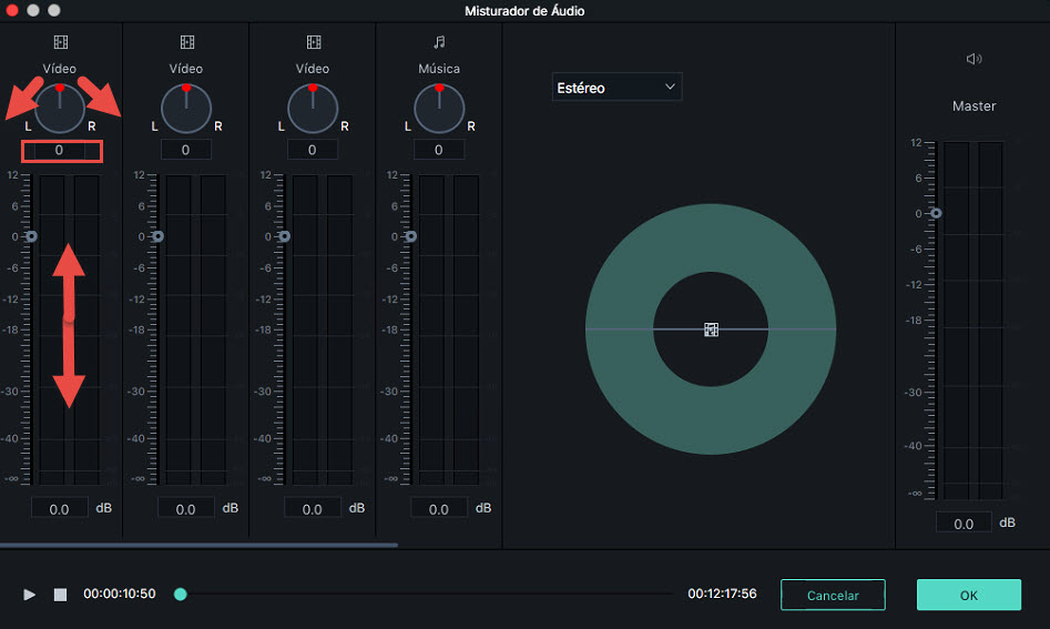 Filmora9 for Mac  Audio Mixer