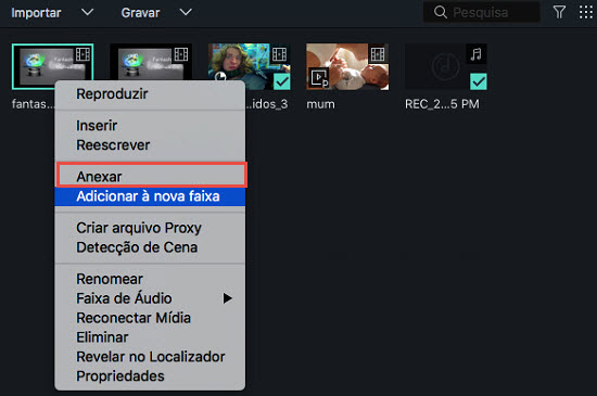 Filmora Mac Add Media to Timeline in Filmora 9 for Mac