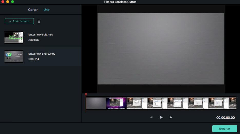 Filmora 9 for Mac  Instant cutter merge