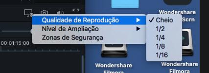 Filmora 9  para Mac Qualidade da Reprodução