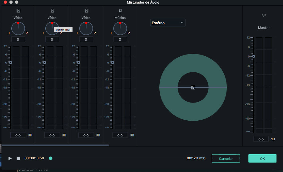 Filmora 9 for Mac  Audio Mixer