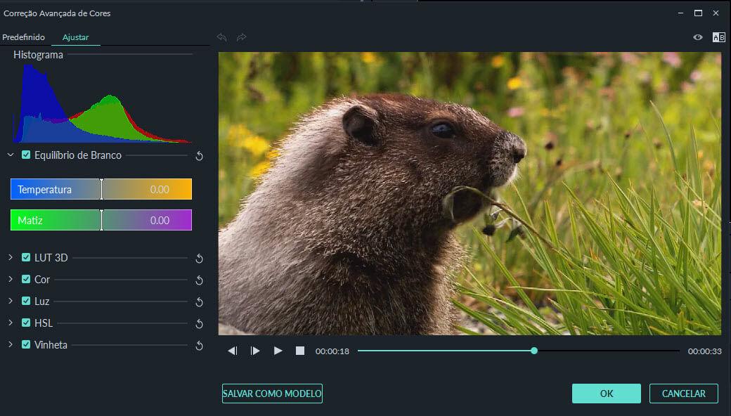 melhorar vídeo