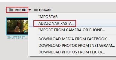 import a folder