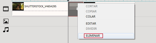 how to remove transition effect in Filmora