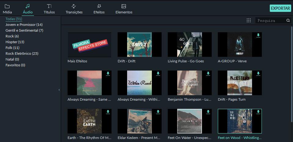 select theme music
