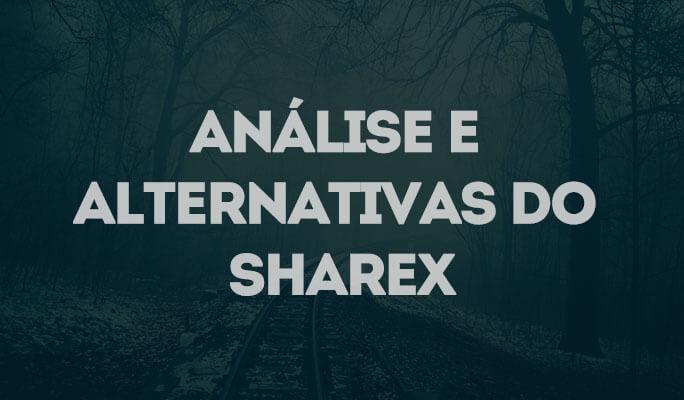 Análise e ALternativas do ShareX