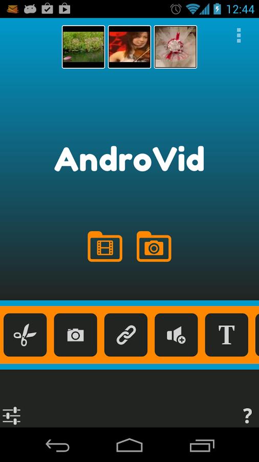 cortador de vídeo de android