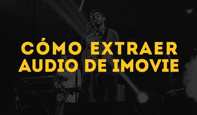 Como Extrair Áudio do iMovie (iMovie 11)