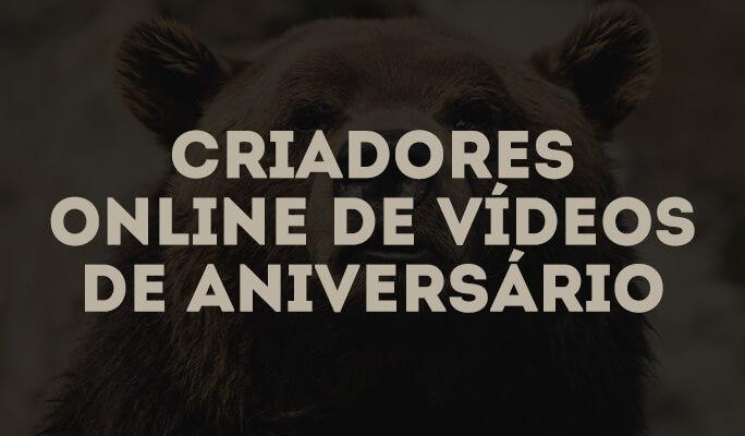 Criadores online de vídeos de Aniversário