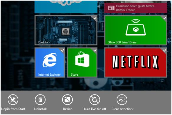 Menu de Iniciar do Windows 10