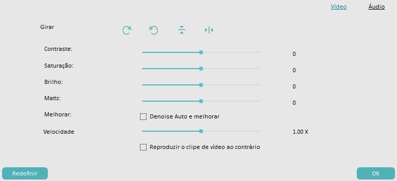 melhorar a qualidade do vídeo