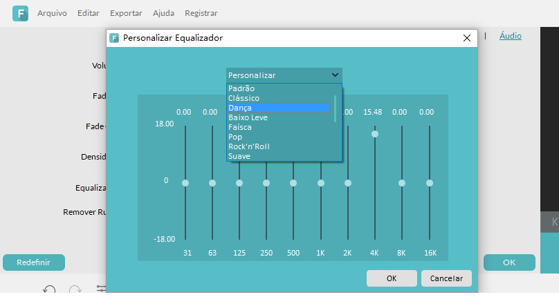 How to add audio effects with audio equalizer