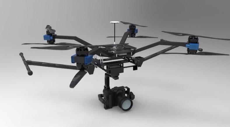 az 4k uhd camera drone green bee 1200