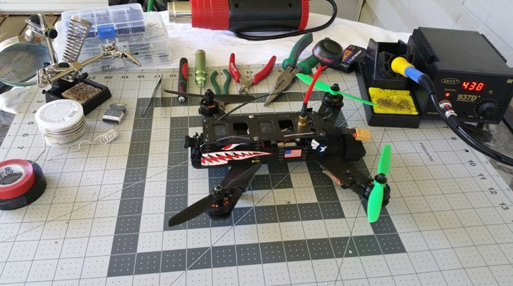building a drone