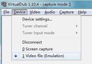 editar vídeos no VirtualDub