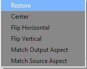 Click on the image and hit the restore option from drop down menu