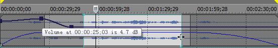 Adjust audio volume