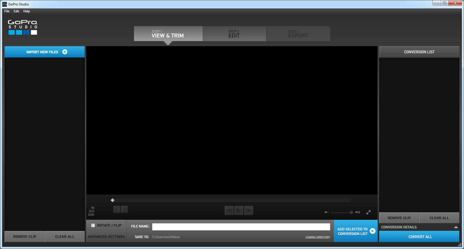 video editor for drone footage