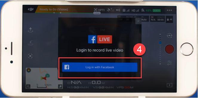 facebook account drone
