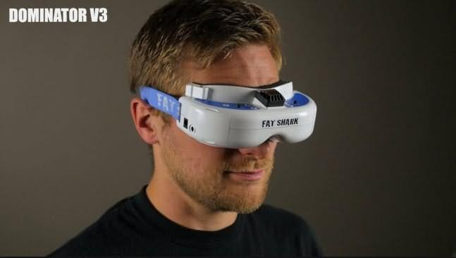 fat shark dominator v3 fpv goggle