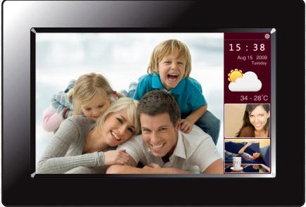 presentes para dia dos pais - moldura de foto digital