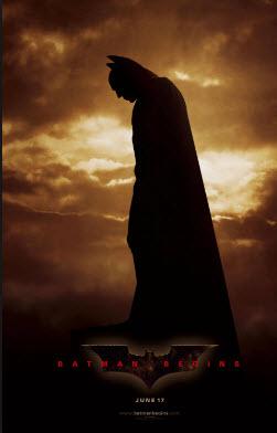 Batman Begins filmes para dia dos pais