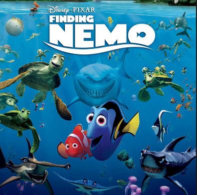 Finding Nemo - filmes para dia dos pais