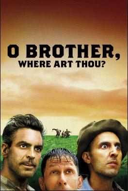 O Brother, Where Art Thou -filmes para dia dos pais