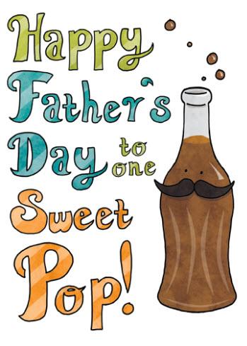 cartão de presente para dia dos pais