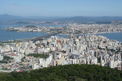 lugares mais visitados dentro brasil
