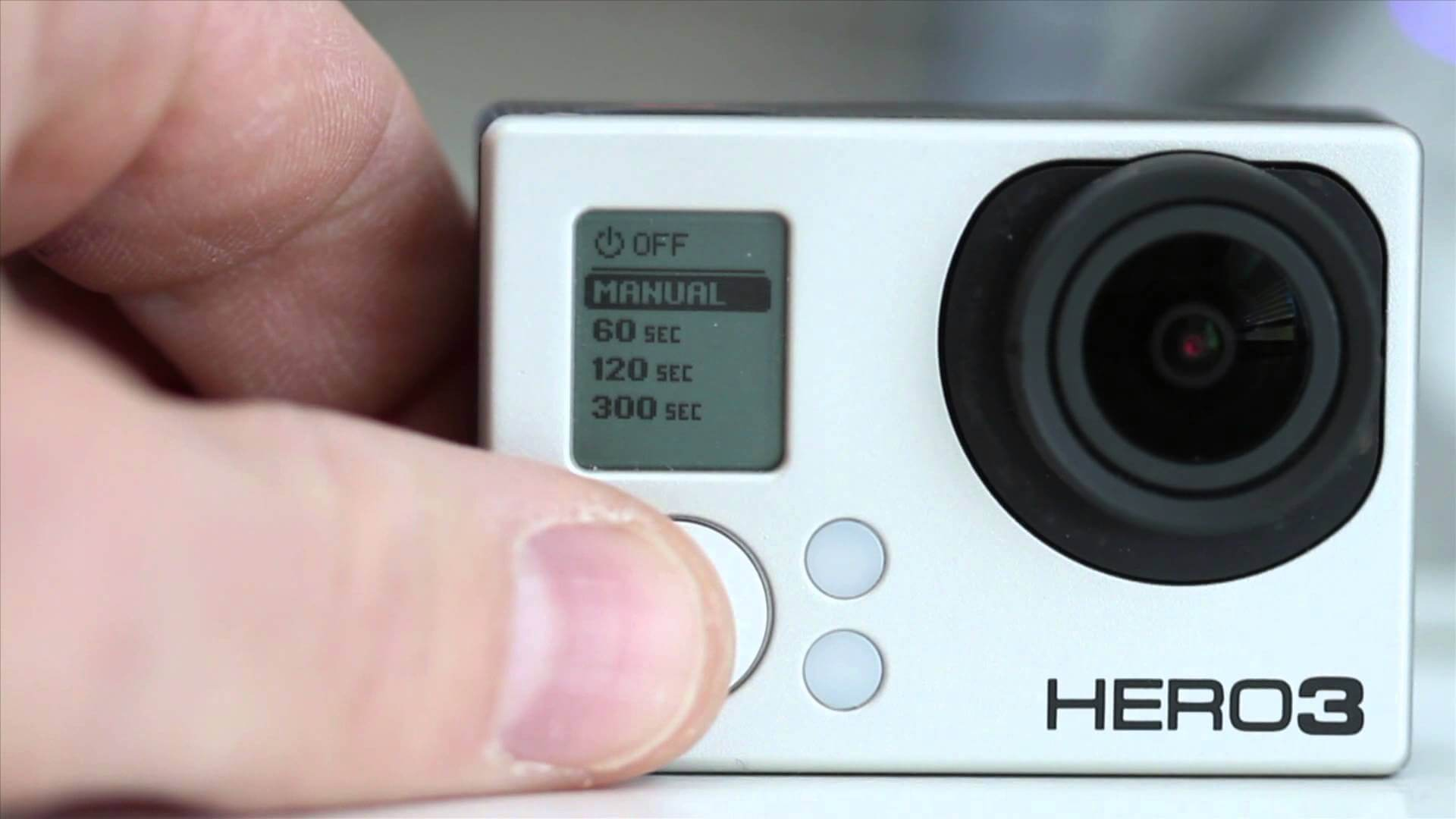 Save GoPro battery life