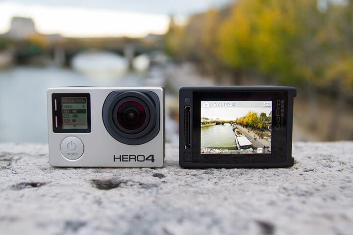 câmera de aventura gopro
