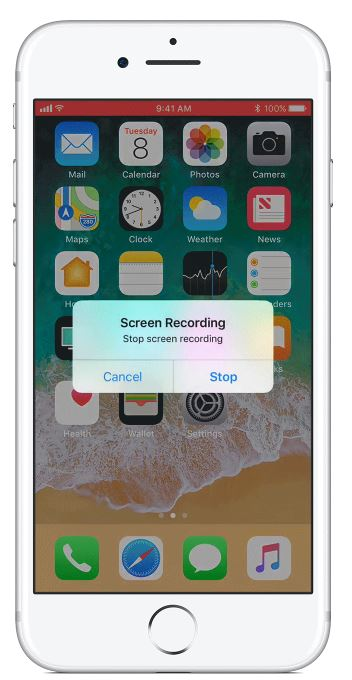 iOS screen recorder