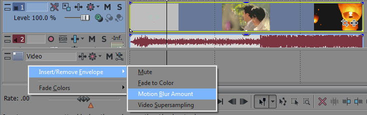 Motion Blur Amount