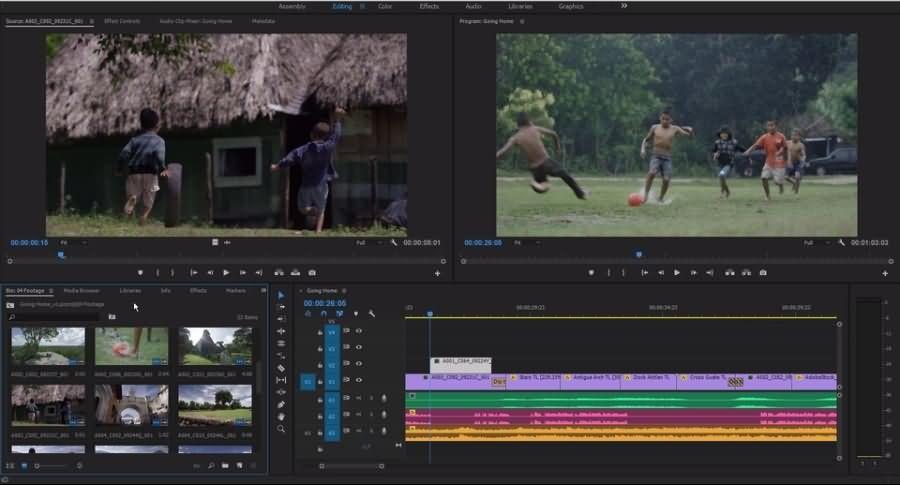 Premiere Pro CC Video Editor